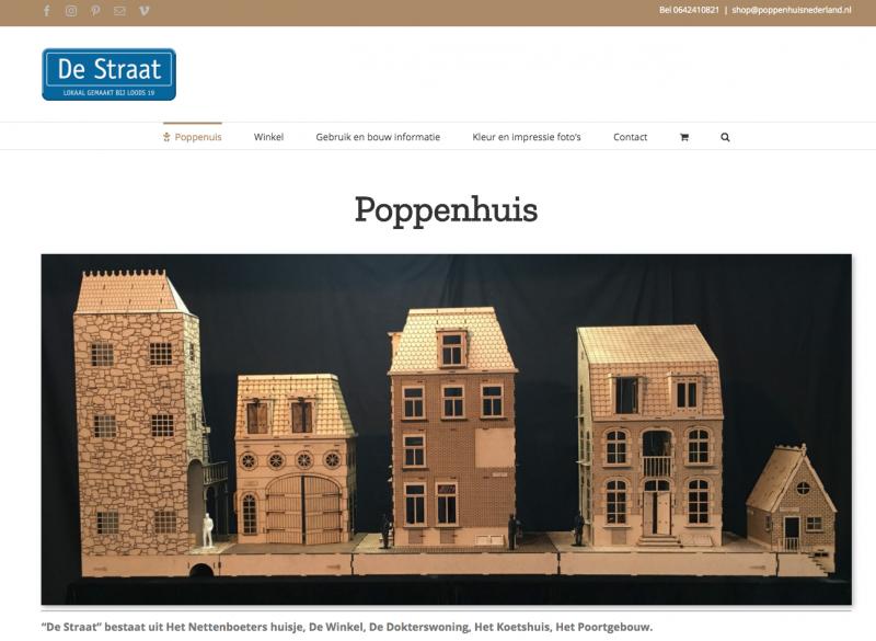 De special poppenhuis shop op poppenhuisnederland.nl